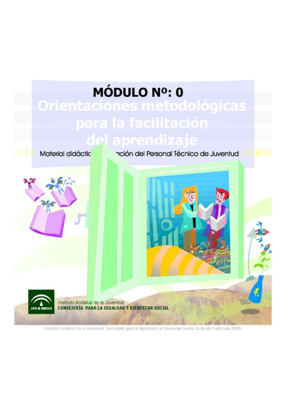 Orientaciones metodologógicas para la facilitación