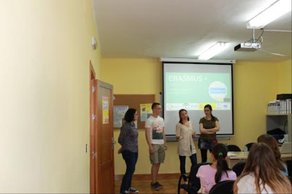 Info session Erasmus + en Vilches