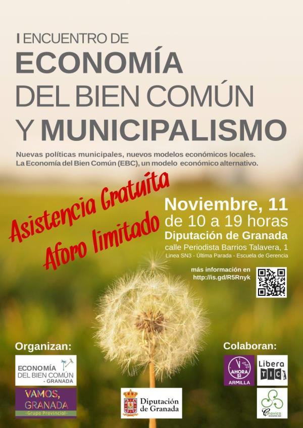Colectivo Gentes en el I Encuentro de EBC y Municipalismo en Granada