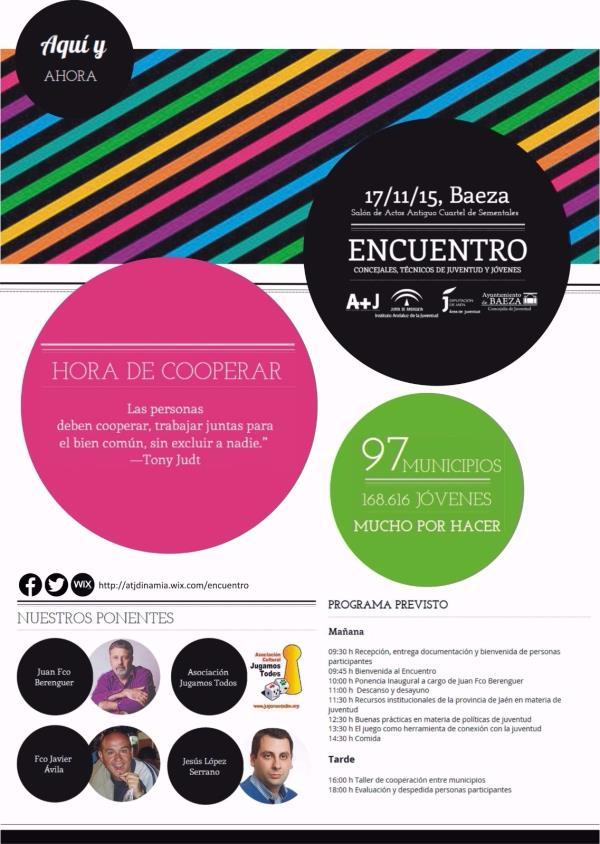 Encuentro Provincial de Técnicos/as y Concejales/as de Juventud