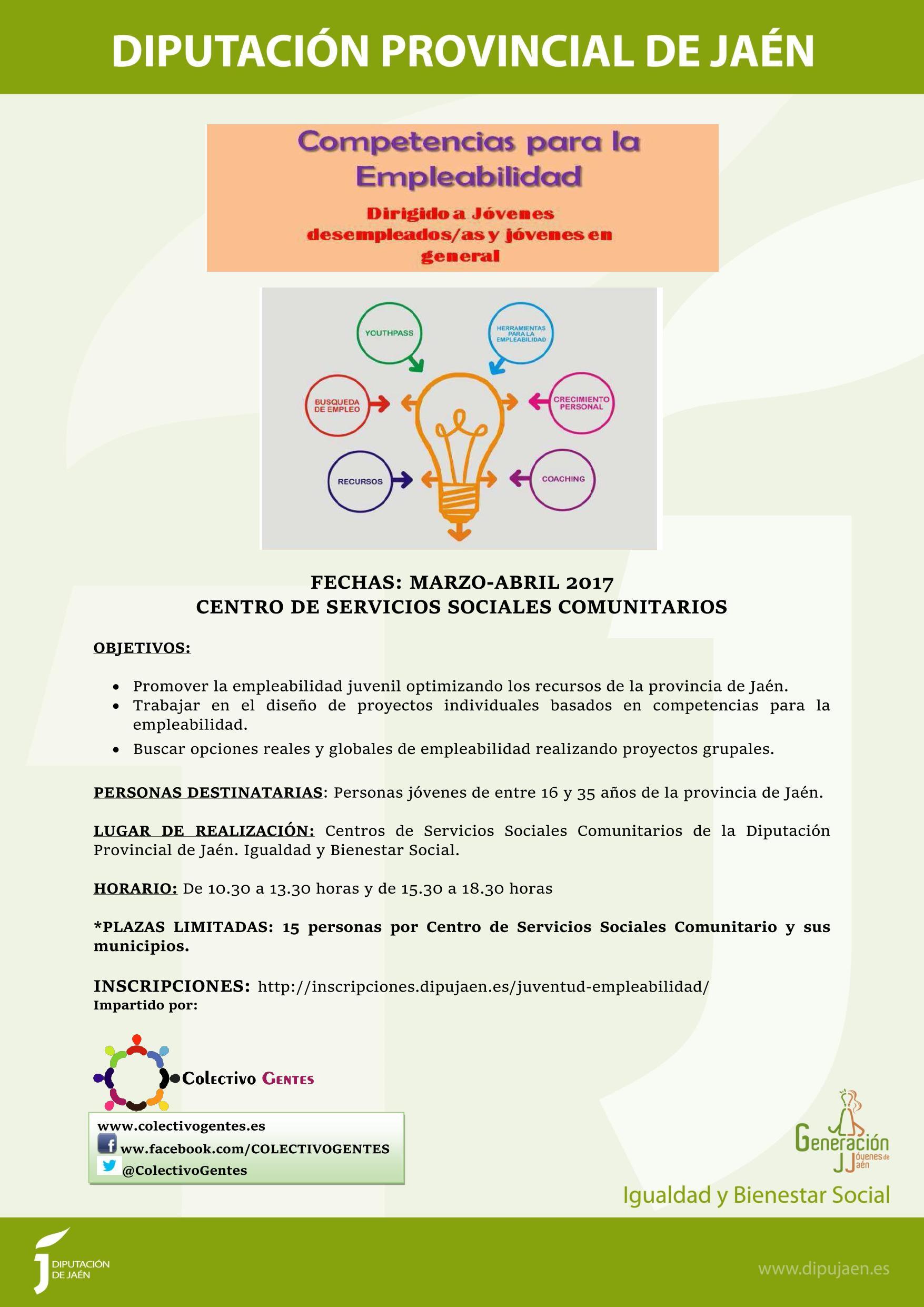 Talleres Competencias para la Empleabilidad II