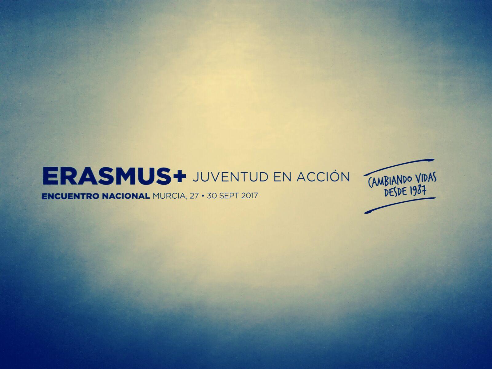 Colectivo Gentes en el 30 aniversario Erasmus+