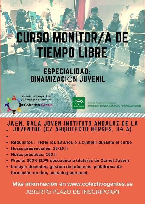 Curso Monitor/a de Tiempo Libre en Jaén
