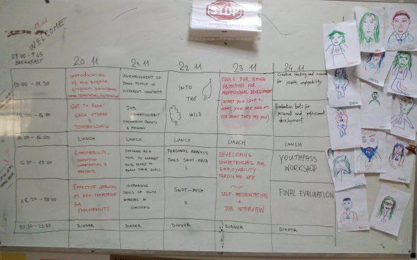 Formación en empleabilidad en el programa Erasmus +